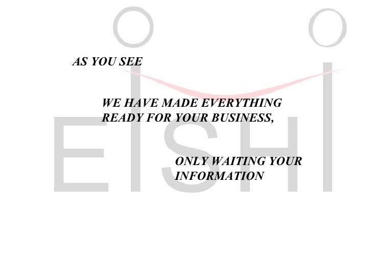 eishi eps machinery co. introduction