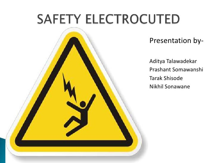 Electrical Safety in public places