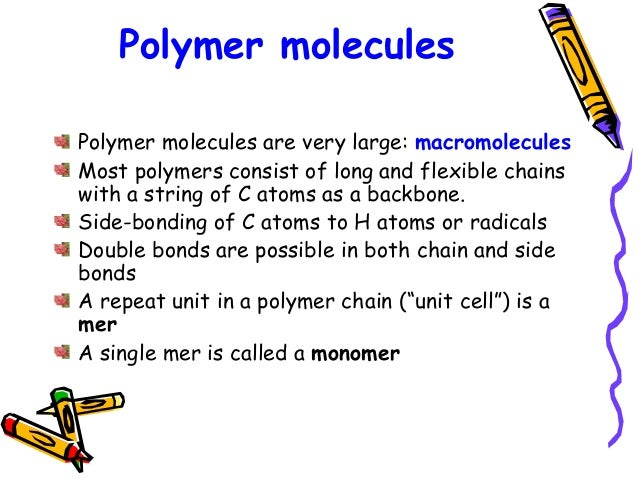 polymer chemistry Polymer chemistry article index (a) theromophysical data key data on over two hundred and fifty polymers polymers index.