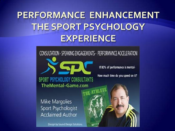 Sport Psychology Consultingthe last 30 yearsSoccer coach for 35 years
