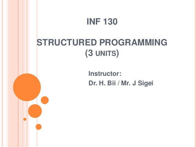 Ppt bpc. 1 basic programming concepts powerpoint presentation.