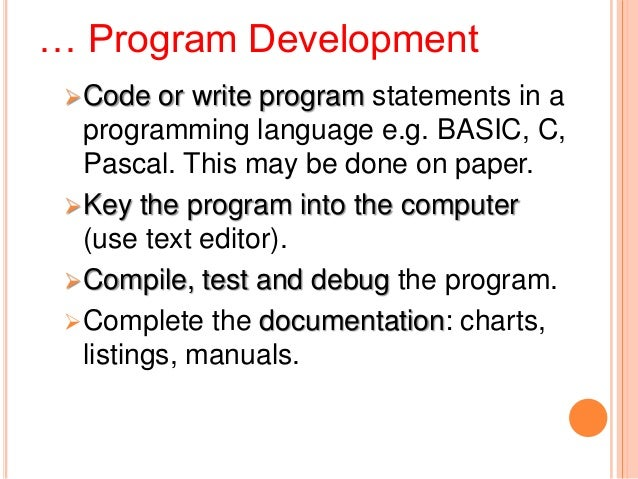 ... Programming Steps –1) Understand the ProblemRead the problem or talk to & listen to theperson who posed the problem....