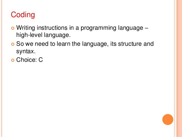 structured programming Introduction to c fundamentals