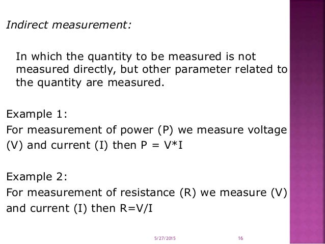 Examples Of Measurement Instruments : Introduction advantages of electronic instrumentation