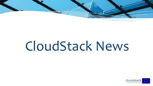 CloudStack News