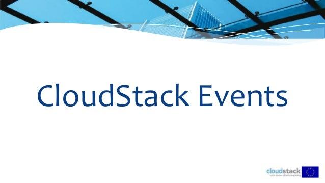 CloudStack Events