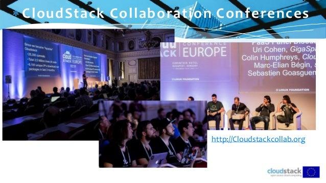 C l i c k t o e d i t  CloudStack Collaboration Conferences http://Cloudstackcollab.org