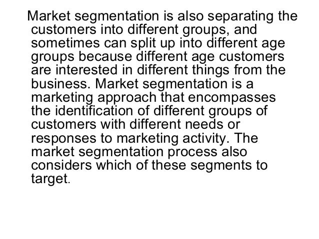 an introduction to the identification of demand in the target market Identifying market segments and selecting target markets 1 chapter 9 identifying market segments and selecting target markets powerpoint by karen e.