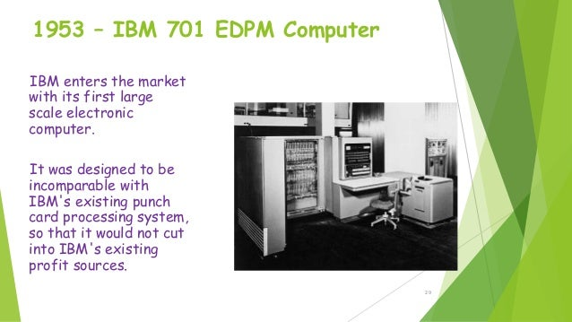 Introduction and history of computers.