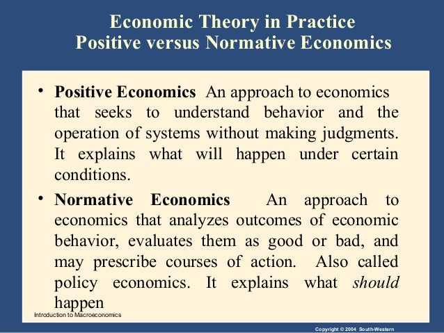 positive vs normative accounting theory Definition of normative accounting theory: a basis of this theory is the execution of an accounting process and not the observation aspect the use of a single formula to derive the value based income, is derived after undertaking several different.
