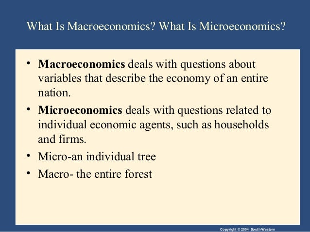introduction to microeconomics questions Questions what is scarcity can you think of two causes of scarcity residents of the town of smithfield like to consume hams, but each ham requires 10 people to produce it and takes a month.