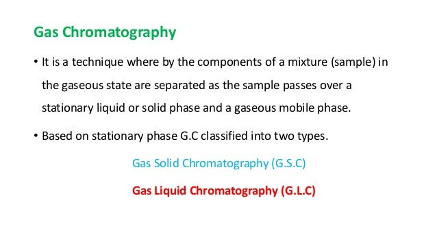 Introduction and principle of glc, hplc