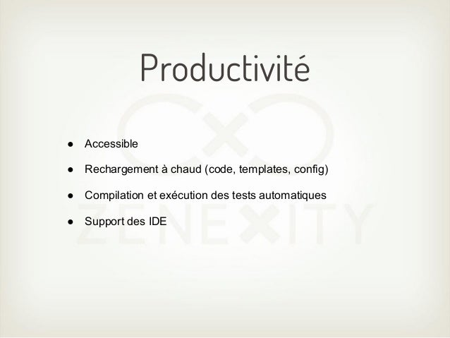 Support natif de Java et ScalaAPI propre et maintenue à chaque langage