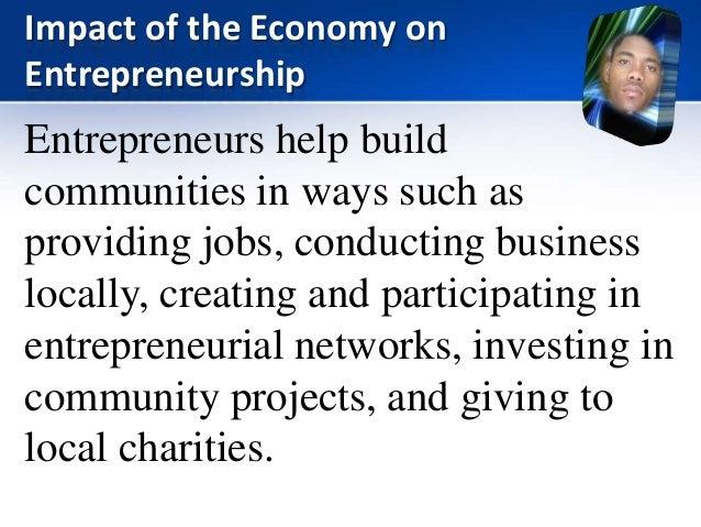 impact of entrepreneurship development urbanization Entrepreneurship skills for growth -orientated  'skills development for smes and entrepreneurship',  impact that creation of new businessesthe.