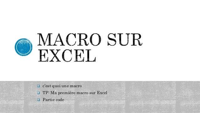 Introduction au visual basic pour application by hamoji