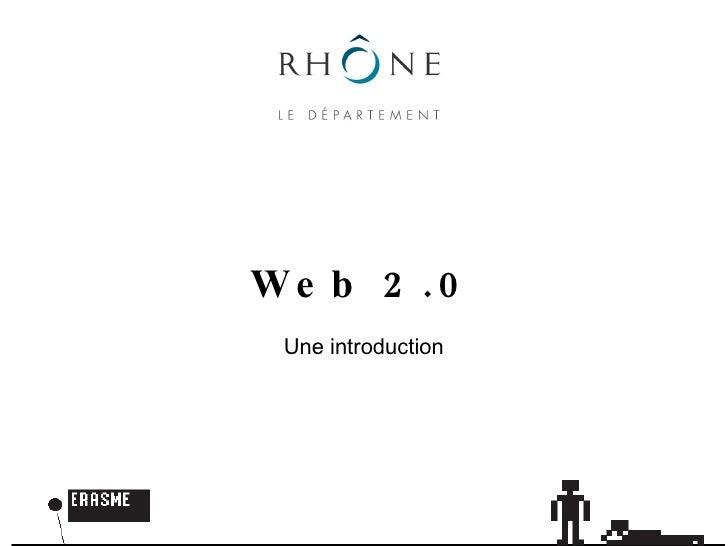 Web 2.0 Une introduction