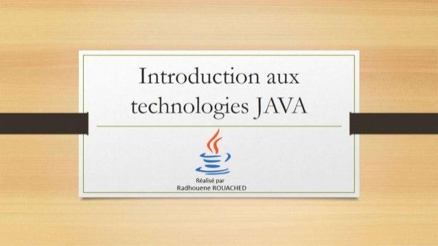 Introduction aux Frameworks java