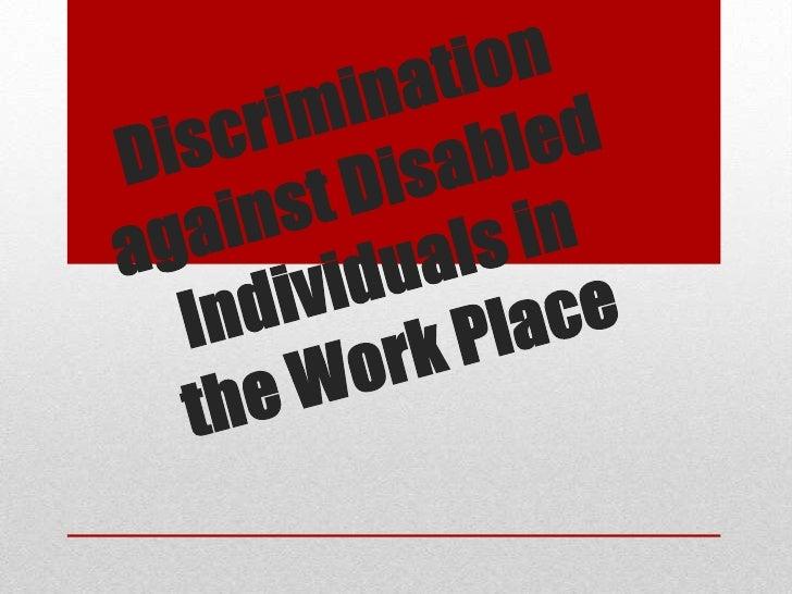"Introduction         ""Disabilities"" is an umbrella term, coveringimpairments, activity limitations, and participationrestr..."