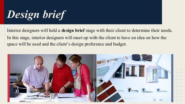 interior design project brief examples project