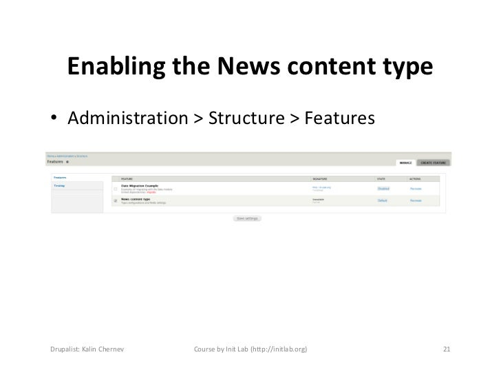 drupal how to add content type