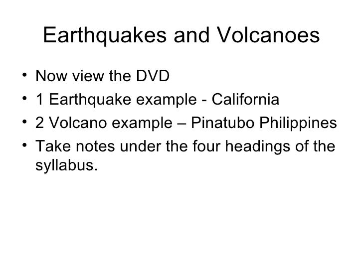 an introduction to the geography of volcanoes If you follow these links clicking on the images on the left, you could find some interesting web pages you will learn lots of facts about volcanoes there.