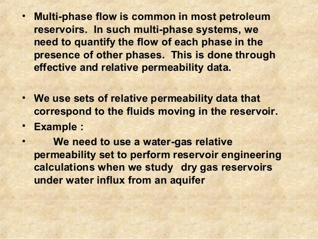 absolute permeability using a gas Carbonates, which are the host rocks of most remaining oil and gas reserves the   permeability within a factor of two, for a set of samples with permeabilities.