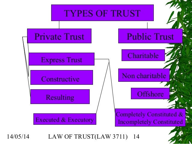 trust laws For your free elder law estate planning consultation, please call 800-500-2525 x100 - 13 ny locations.