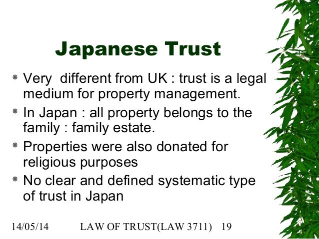 "equity trust law essays Question: law of trusts: essay on secret trust i) ""the doctrine of equity, by which parol evidence is admissible to prove what is called 'fraud' in connection."