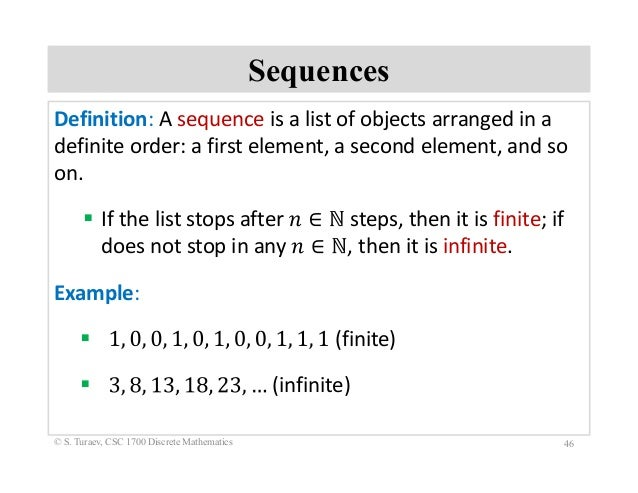 how to find recursive definition of a sequence