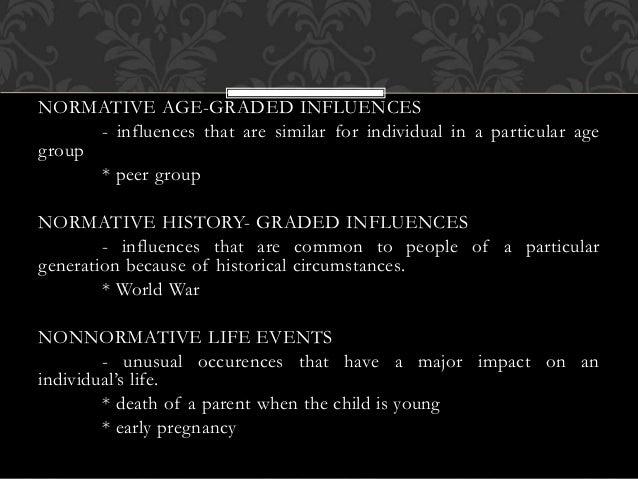 history graded influences