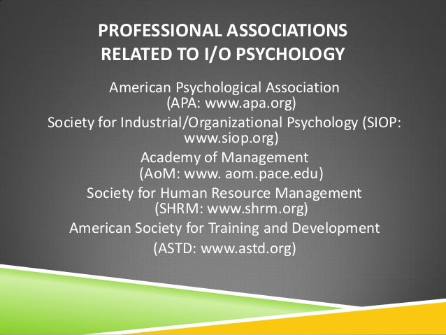 industrial and organizational psychology worksheet Industrial/organizational psychology an applied approach  preface xv chapter1 introduction to i/o psychology 1 the field of i/o psychology 2.