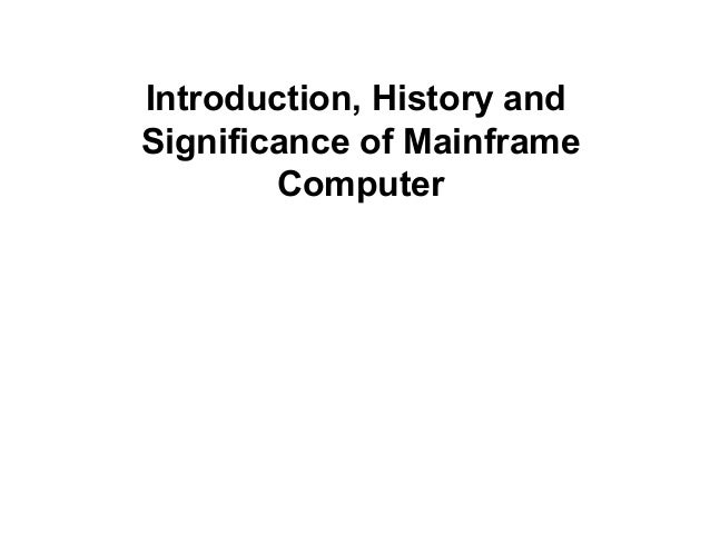an introduction to the history of the computer industry 1978: accountants rejoice at the introduction of visicalc,  timeline of computer history you'd also like the world's 1st computer algorithm, written by ada lovelace, sells for $125,000 at.