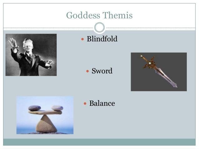 Goddess Themis  Blindfold  Sword  Balance