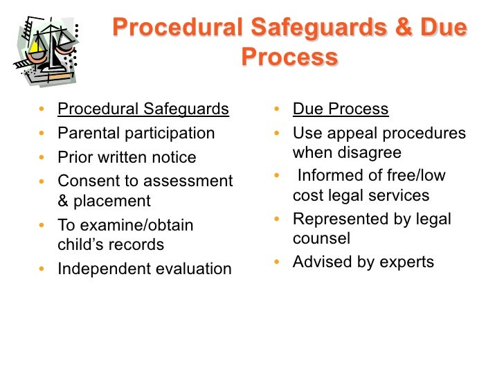 Special Education Procedural Safeguards >> Introduction Legislation And Litigation Ppt With Notes