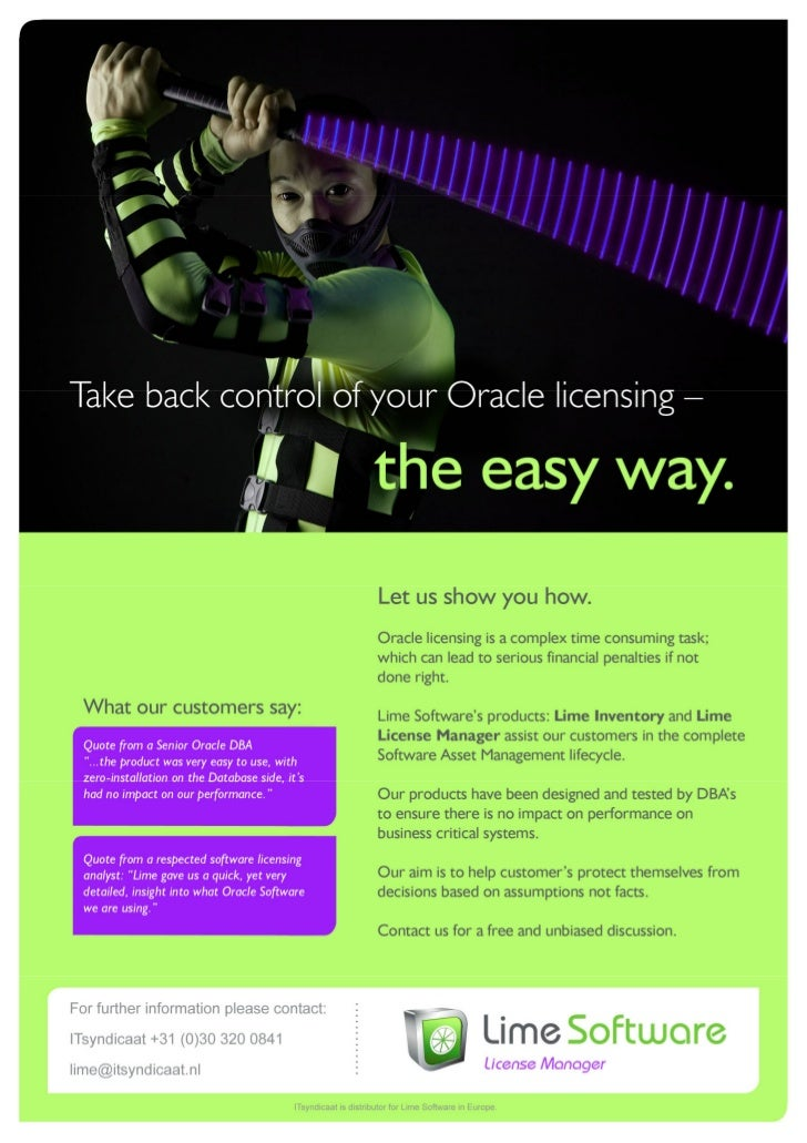Introduction Lime For Oracle