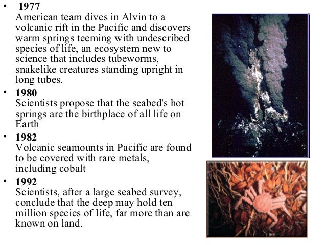 an introduction to the history of marine fossils Ancient fossils now reveal that the deep sea may be the origin of many lineages of sea creatures found closer to the surface, such as a number of sea stars, sea urchins and snails, researchers say these new findings suggest the deep sea has played a much greater role in producing and preserving.
