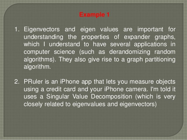 Documents Similar To Applications of Eigenvalues and Eigenvectors