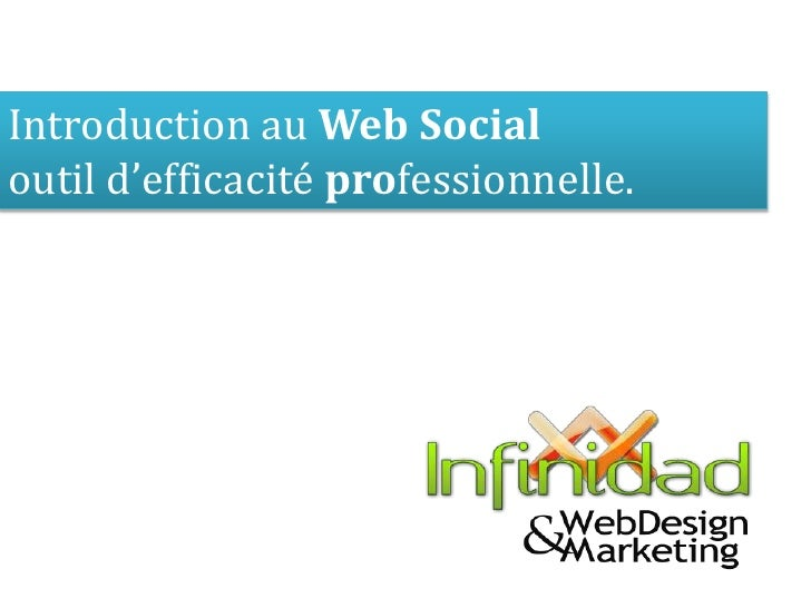 Introduction au Web Social<br />outil d'efficacité professionnelle.<br />