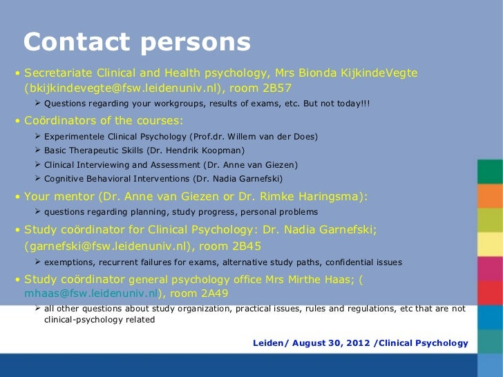 Health psychology assignments