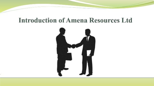 AMENA Resources Ltd is a provider of things to be specific. 1- Oil items. 2- Minerals. 3- Metals. 4- Scrap metal. 5- Oil a...