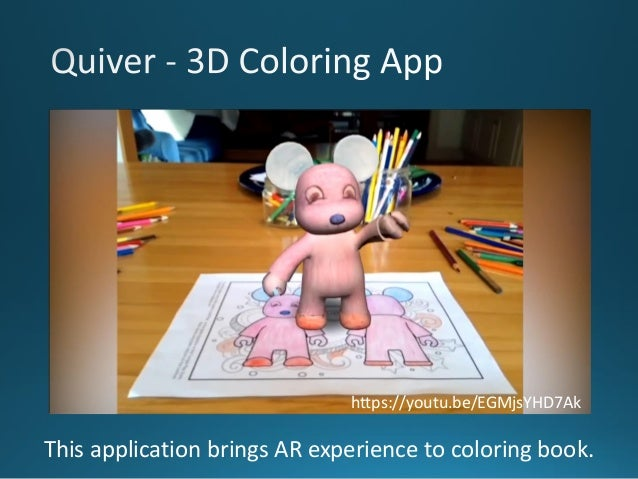 14 This Application Brings AR Experience To Coloring Book