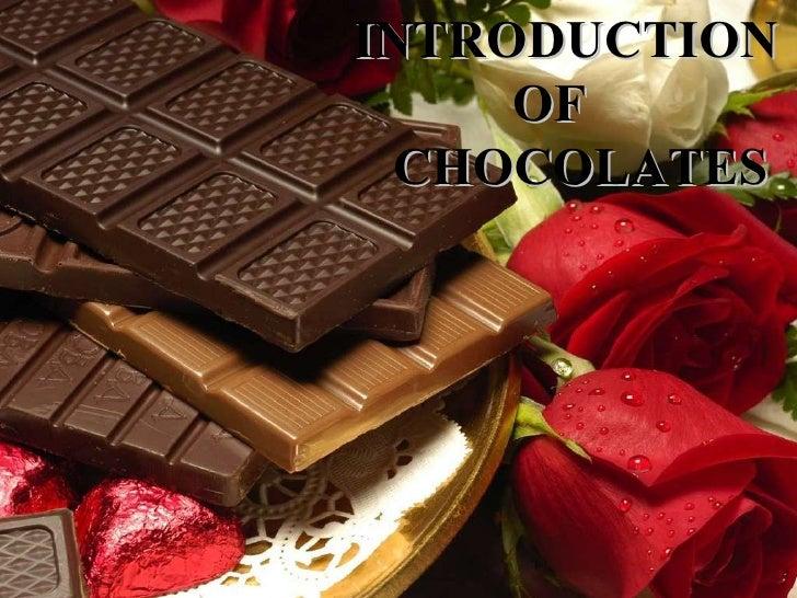 chocolate essay introduction