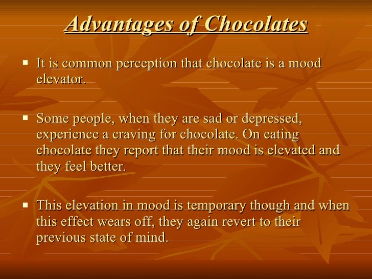 the common misinterpretations on the health effects of chocolate A chocolate sensitivity is different than a chocolate allergy  chocolate is found in many popular desserts and even in some  risk factors.