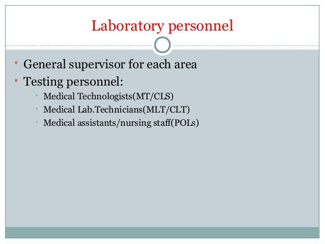 Introduction of Clinical Laboratory Science