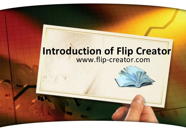 Introduction of Flip Creator       www.flip-creator.com