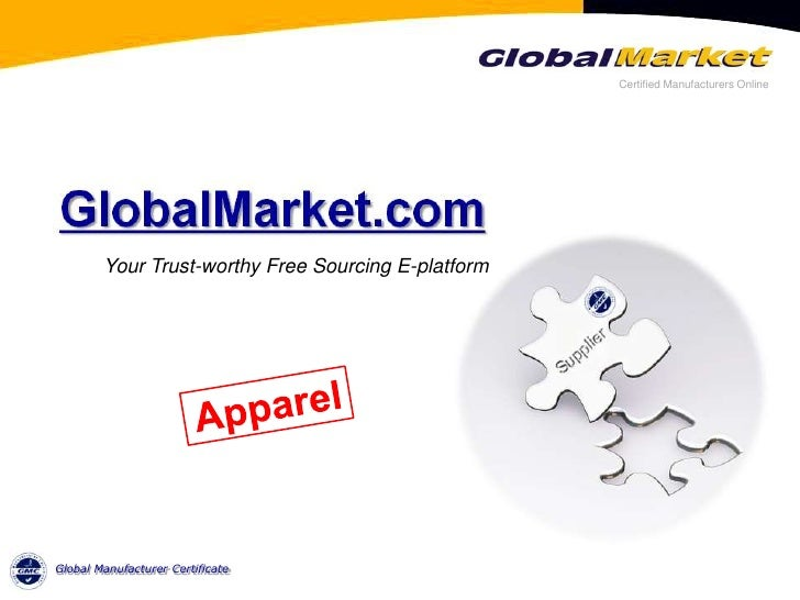 Introduction Of Global Market For Apparel Industry
