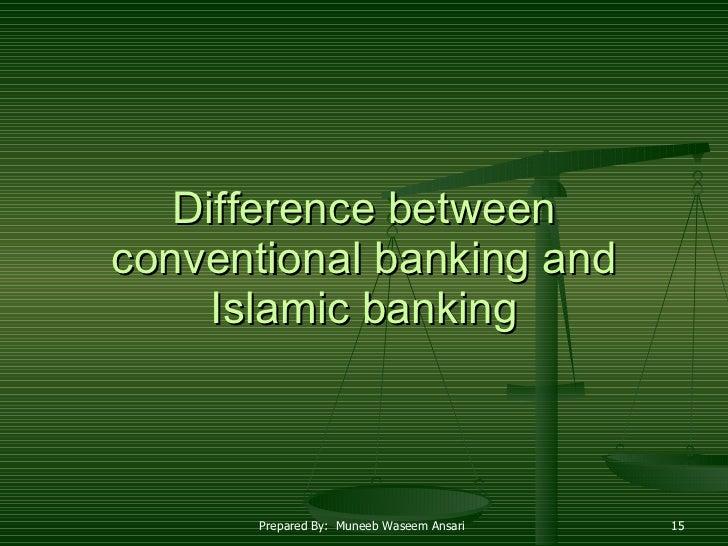 difference between islamic banking and