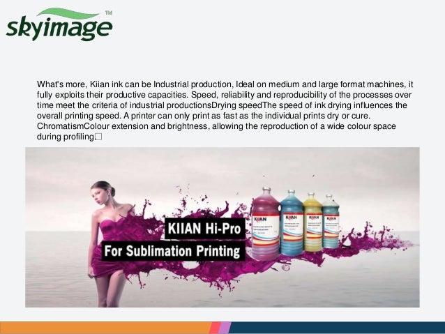 Introduction of kiian disgistar hi pro ink