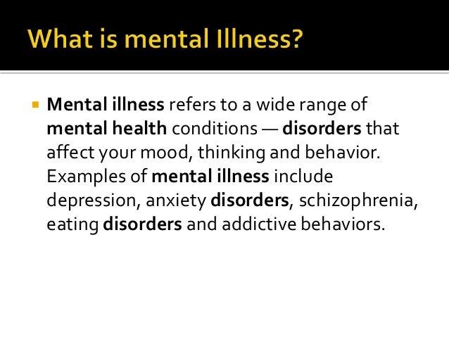 mental illness introduction essay