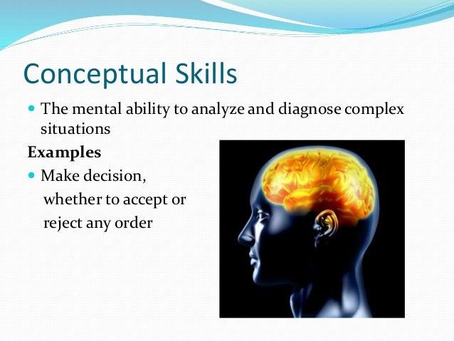 conceptual ability
